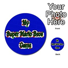 Boys Memory Game By Brookieadkins Yahoo Com   Multi Purpose Cards (round)   Plpu75p0ktrz   Www Artscow Com Front 12