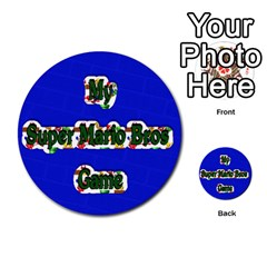 Boys Memory Game By Brookieadkins Yahoo Com   Multi Purpose Cards (round)   Plpu75p0ktrz   Www Artscow Com Front 26