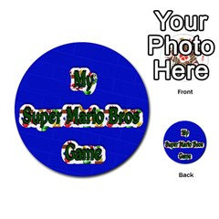 Boys Memory Game By Brookieadkins Yahoo Com   Multi Purpose Cards (round)   Plpu75p0ktrz   Www Artscow Com Front 35