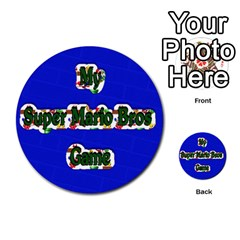 Boys Memory Game By Brookieadkins Yahoo Com   Multi Purpose Cards (round)   Plpu75p0ktrz   Www Artscow Com Front 38