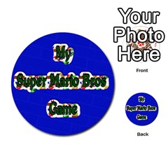 Boys Memory Game By Brookieadkins Yahoo Com   Multi Purpose Cards (round)   Plpu75p0ktrz   Www Artscow Com Front 44