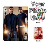 Supernatural Trading Cards (faces on) - Playing Cards 54 Designs