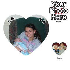 Heart Of Cards By Tonya Smith   Playing Cards 54 (heart)   O5go30izec33   Www Artscow Com Front - Spade5