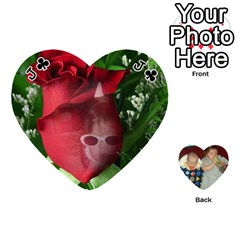 Jack Heart Of Cards By Tonya Smith   Playing Cards 54 (heart)   O5go30izec33   Www Artscow Com Front - ClubJ