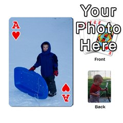 Ace Cards M & D By Kendra   Playing Cards 54 Designs   F4c4mxi4vr72   Www Artscow Com Front - HeartA
