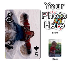 Cards M & D By Kendra   Playing Cards 54 Designs   F4c4mxi4vr72   Www Artscow Com Front - Club5