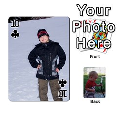 Cards M & D By Kendra   Playing Cards 54 Designs   F4c4mxi4vr72   Www Artscow Com Front - Club10