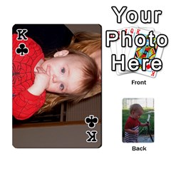 King Cards M & D By Kendra   Playing Cards 54 Designs   F4c4mxi4vr72   Www Artscow Com Front - ClubK