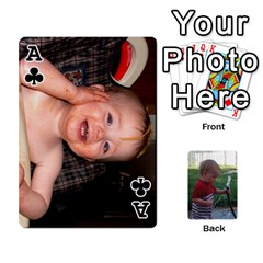 Ace Cards M & D By Kendra   Playing Cards 54 Designs   F4c4mxi4vr72   Www Artscow Com Front - ClubA