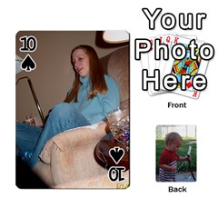 Cards M & D By Kendra   Playing Cards 54 Designs   F4c4mxi4vr72   Www Artscow Com Front - Spade10