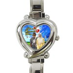 liya Heart Italian Charm Watch