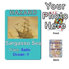 Explororation: Age Of Sail  Exploration Deck By Daryl Anderson   Playing Cards 54 Designs   V30et0lo32s7   Www Artscow Com Front - Spade6