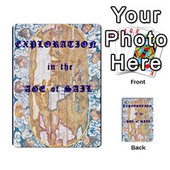 Explororation: Age Of Sail  Exploration Deck By Daryl Anderson   Playing Cards 54 Designs   V30et0lo32s7   Www Artscow Com Back