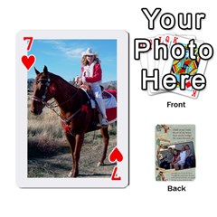 Grandkids Cards By Lynne Simmons   Playing Cards 54 Designs   0z6p7v8k15ku   Www Artscow Com Front - Heart7