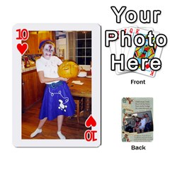 Grandkids Cards By Lynne Simmons   Playing Cards 54 Designs   0z6p7v8k15ku   Www Artscow Com Front - Heart10