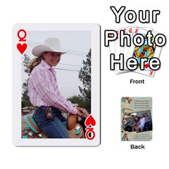 Queen Grandkids Cards By Lynne Simmons   Playing Cards 54 Designs   0z6p7v8k15ku   Www Artscow Com Front - HeartQ