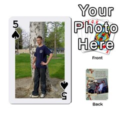 Grandkids Cards By Lynne Simmons   Playing Cards 54 Designs   0z6p7v8k15ku   Www Artscow Com Front - Spade5