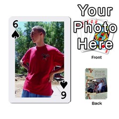 Grandkids Cards By Lynne Simmons   Playing Cards 54 Designs   0z6p7v8k15ku   Www Artscow Com Front - Spade6