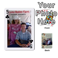 Grandkids Cards By Lynne Simmons   Playing Cards 54 Designs   0z6p7v8k15ku   Www Artscow Com Front - Club5