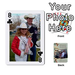 Grandkids Cards By Lynne Simmons   Playing Cards 54 Designs   0z6p7v8k15ku   Www Artscow Com Front - Club8