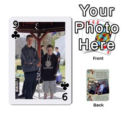 Grandkids Cards By Lynne Simmons   Playing Cards 54 Designs   0z6p7v8k15ku   Www Artscow Com Front - Club9