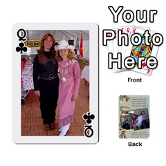 Queen Grandkids Cards By Lynne Simmons   Playing Cards 54 Designs   0z6p7v8k15ku   Www Artscow Com Front - ClubQ