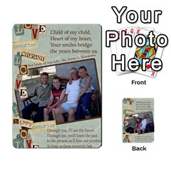 Grandkids Cards By Lynne Simmons   Playing Cards 54 Designs   0z6p7v8k15ku   Www Artscow Com Back