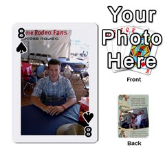 Grandkids Cards By Lynne Simmons   Playing Cards 54 Designs   0z6p7v8k15ku   Www Artscow Com Front - Spade8