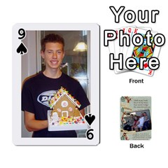 Grandkids Cards By Lynne Simmons   Playing Cards 54 Designs   0z6p7v8k15ku   Www Artscow Com Front - Spade9