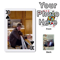 Grandkids Cards By Lynne Simmons   Playing Cards 54 Designs   0z6p7v8k15ku   Www Artscow Com Front - Spade10