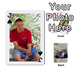 Jack Grandkids Cards By Lynne Simmons   Playing Cards 54 Designs   0z6p7v8k15ku   Www Artscow Com Front - SpadeJ