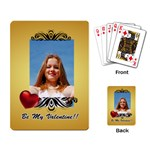 Love playing card - Playing Cards Single Design