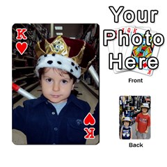 King Deckofcards By Tegan Craig   Playing Cards 54 Designs   Bd6u7aiyyf5c   Www Artscow Com Front - HeartK