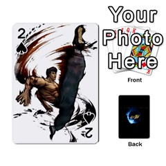 Ssf4 Cards Set By Rubin   Playing Cards 54 Designs   Cszrwwq8wsf4   Www Artscow Com Front - Spade2