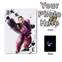 Ssf4 Cards Set By Rubin   Playing Cards 54 Designs   Cszrwwq8wsf4   Www Artscow Com Front - Spade3