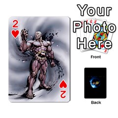 Ssf4 Cards Set By Rubin Front - Heart2