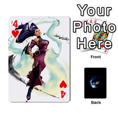 Ssf4 Cards Set By Rubin Front - Heart4
