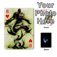 Ssf4 Cards Set By Rubin Front - Heart8