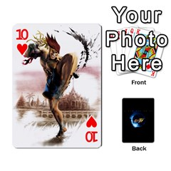 Ssf4 Cards Set By Rubin Front - Heart10