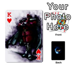 King Ssf4 Cards Set By Rubin Front - HeartK