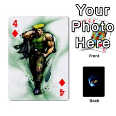 Ssf4 Cards Set By Rubin Front - Diamond4