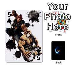 Ssf4 Cards Set By Rubin   Playing Cards 54 Designs   Cszrwwq8wsf4   Www Artscow Com Front - Spade5