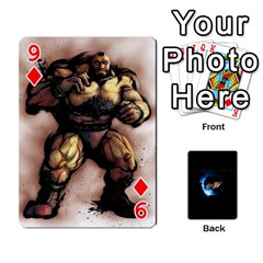 Ssf4 Cards Set By Rubin Front - Diamond9