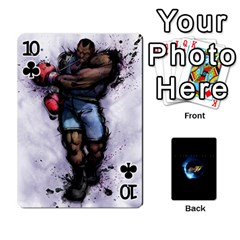 Ssf4 Cards Set By Rubin Front - Club10