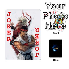 Ssf4 Cards Set By Rubin Front - Joker2