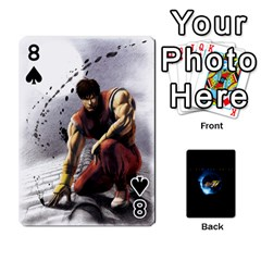 Ssf4 Cards Set By Rubin   Playing Cards 54 Designs   Cszrwwq8wsf4   Www Artscow Com Front - Spade8