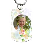 flower - Dog Tag (Two Sides)