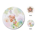 baby flower - Playing Cards (Round)