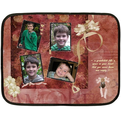 Blanket For Mama By Dianne Nicholls   Fleece Blanket (mini)   Hzsfo2cu61ie   Www Artscow Com 35 x27  Blanket