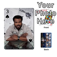 The Office Playing Cards By Mark C Petzold   Playing Cards 54 Designs   Qgfjuwr2izuf   Www Artscow Com Front - Spade3